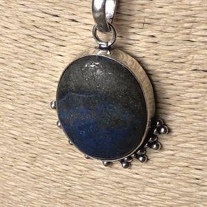 Lapis Lazuli Vintage Style Boho Necklace
